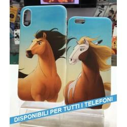 COVER DI COPPIA SPIRIT cavallo selvaggio per APPLE SAMSUNG HUAWEI LG SONY ASUS WIKO XIAOMI