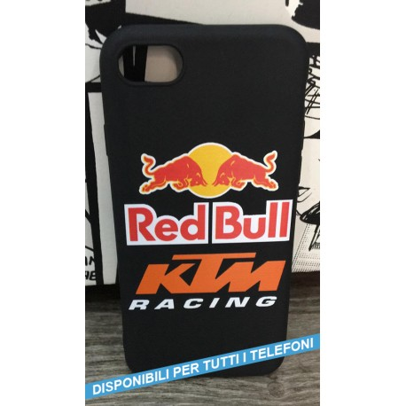 COVER Red Bull KTM RACING per APPLE IPHONE SAMSUNG GALAXY HUAWEI ASUS LG ALCATEL SONY WIKO XIAOMI