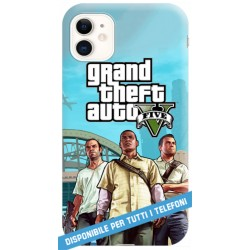 COVER GRAND THEFT AUTO GTA V per iPhone 3g/3gs 4/4s 5/5s/c 6/6s Plus iPod Touch 4/5/6 iPod nano 7