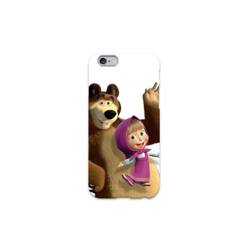 Cover Masha E L Orso Per Iphone 3g 3gs 4 4s 5 5s C 6 6s Plus Ipod Touch 4 5 6 Ipod Nano 7 Covermania
