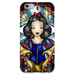 COVER BIANCANEVE ARTE per iPhone 3g/3gs 4/4s 5/5s/c 6/6s Plus iPod Touch 4/5/6 iPod nano 7