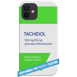 COVER TACHIDOL PHARMACY CASE per APPLE IPHONE SAMSUNG GALAXY HUAWEI ASUS LG ALCATEL SONY WIKO VODAFONE MICROSOFT XIAOMI