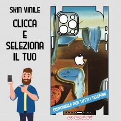 SKIN VINILE ADESIVO ARTE Salvador Dalí WRAPPING PER TUTTI I TELEFONI