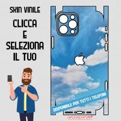 SKIN VINILE ADESIVO CIELO CHIARO WRAPPING PER TUTTI I TELEFONI