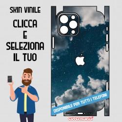 SKIN VINILE ADESIVO CIELO NOTTE WRAPPING PER TUTTI I TELEFONI