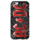 COVER AC/DC per iPhone 3g/3gs 4/4s 5/5s/c 6/6s Plus iPod Touch 4/5/6 iPod nano 7