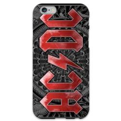 COVER AC/DC per iPhone 3g/3gs 4/4s 5/5s/c 6/6s Plus iPod Touch 4/5/6 iPod nano 7