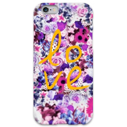COVER FIORI LOVE per iPhone 3g/3gs 4/4s 5/5s/c 6/6s Plus iPod Touch 4/5/6 iPod nano 7