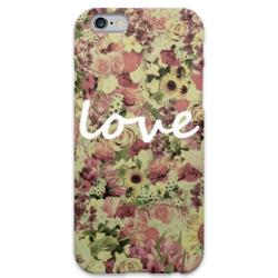 COVER FIORI LOVE 2 per iPhone 3g/3gs 4/4s 5/5s/c 6/6s Plus iPod Touch 4/5/6 iPod nano 7