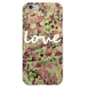 COVER FIORI LOVE 2 per iPhone 3g/3gs 4/4s 5/5s/c 6/6s Plus iPod Touch 4/5/6 iPod nano 7
