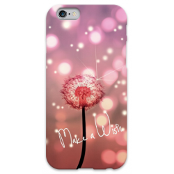 COVER FIORE MAKE A WISH per iPhone 3g/3gs 4/4s 5/5s/c 6/6s Plus iPod Touch 4/5/6 iPod nano 7