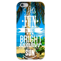 COVER FUN SUMMER per iPhone 3g/3gs 4/4s 5/5s/c 6/6s Plus iPod Touch 4/5/6 iPod nano 7