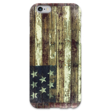 COVER BANDIERA USA VINTAGE per iPhone 3g/3gs 4/4s 5/5s/c 6/6s Plus iPod Touch 4/5/6 iPod nano 7