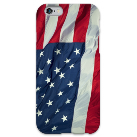 COVER BANDIERA USA per iPhone 3g/3gs 4/4s 5/5s/c 6/6s Plus iPod Touch 4/5/6 iPod nano 7