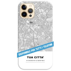 COVER la tua Città per APPLE IPHONE SAMSUNG GALAXY HUAWEI ASUS LG ALCATEL SONY WIKO XIAOMI