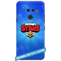 COVER BRAWL STARS LOGO CELESTE PER APPLE IPHONE SAMSUNG GALAXY HUAWEI ASUS LG ALCATEL SONY WIKO XIAOMI