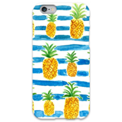 COVER ANANAS per iPhone 3g/3gs 4/4s 5/5s/c 6/6s Plus iPod Touch 4/5/6 iPod nano 7