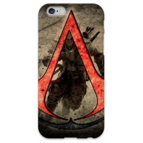 COVER ASSASSIN'S CREED per iPhone 3g/3gs 4/4s 5/5s/c 6/6s Plus iPod Touch 4/5/6 iPod nano 7