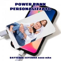 POWER BANK PERSONALIZZATO Batteria esterna 4000 mAh