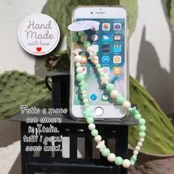 Phone Beads 7 ciondolo charm per telefono smartphone Fatto a Mano
