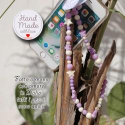 Phone Beads 8 ciondolo charm per telefono smartphone Fatto a Mano