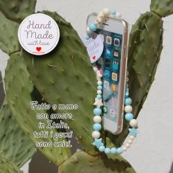 Phone Beads 9 ciondolo charm per telefono smartphone Fatto a Mano