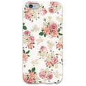 COVER FIORI BIANCO per iPhone 3g/3gs 4/4s 5/5s/c 6/6s Plus iPod Touch 4/5/6 iPod nano 7