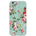 COVER FIORI VERDE per iPhone 3g/3gs 4/4s 5/5s/c 6/6s Plus iPod Touch 4/5/6 iPod nano 7