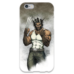 COVER WOLVERINE per iPhone 3g/3gs 4/4s 5/5s/c 6/6s Plus iPod Touch 4/5/6 iPod nano 7