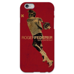 COVER ROGER FEDERER per iPhone 3g/3gs 4/4s 5/5s/c 6/6s Plus iPod Touch 4/5/6 iPod nano 7