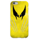 COVER WOLVERINE Minimalist per iPhone 3g/3gs 4/4s 5/5s/c 6/6s Plus iPod Touch 4/5/6 iPod nano 7