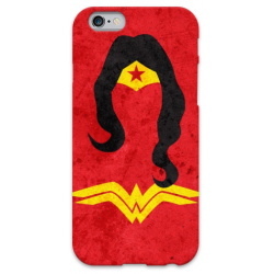 COVER WONDER WOMAN Minimalist per iPhone 3g/3gs 4/4s 5/5s/c 6/6s Plus iPod Touch 4/5/6 iPod nano 7