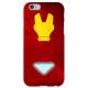 COVER IRON MAN Minimalist per iPhone 3g/3gs 4/4s 5/5s/c 6/6s Plus iPod Touch 4/5/6 iPod nano 7