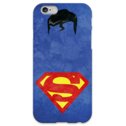 COVER SUPERMAN Minimalist per iPhone 3g/3gs 4/4s 5/5s/c 6/6s Plus iPod Touch 4/5/6 iPod nano 7