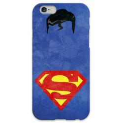 COVER SUPERMAN Minimalist per iPhone 3g/3gs 4/4s 5/5s/c 6/6s Plus iPod Touch 4/5/6 iPod nano 7