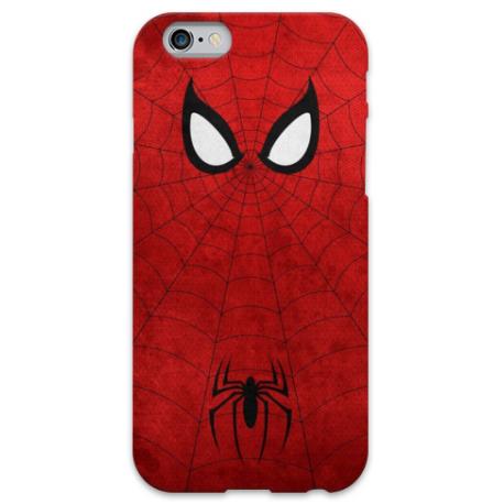 COVER SPIDERMAN Minimalist per iPhone 3g/3gs 4/4s 5/5s/c 6/6s Plus iPod Touch 4/5/6 iPod nano 7