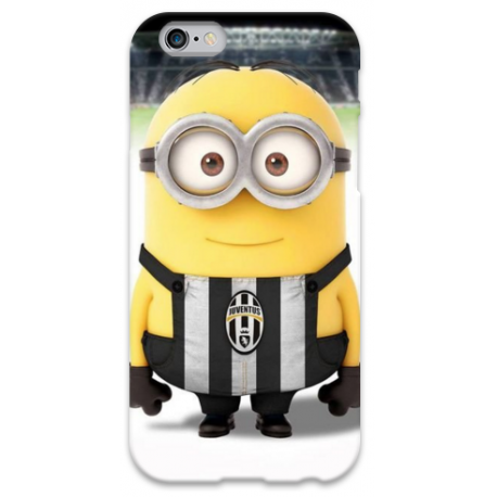 COVER MINIONS JUVE JUVENTUS per iPhone 3g/3gs 4/4s 5/5s/c 6/6s Plus iPod Touch 4/5/6 iPod nano 7