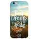COVER FRASI THE BEST DREAMS per iPhone 3g/3gs 4/4s 5/5s/c 6/6s Plus iPod Touch 4/5/6 iPod nano 7