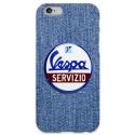 COVER VESPA SERVIZIO per iPhone 3g/3gs 4/4s 5/5s/c 6/6s Plus iPod Touch 4/5/6 iPod nano 7