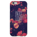 COVER FRASI ENJOY TODAY per iPhone 3g/3gs 4/4s 5/5s/c 6/6s Plus iPod Touch 4/5/6 iPod nano 7