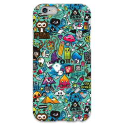 COVER FUMETTI per iPhone 3g/3gs 4/4s 5/5s/c 6/6s Plus iPod Touch 4/5/6 iPod nano 7