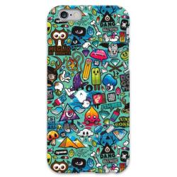 COVER FUMETTI per iPhone 3g/3gs 4/4s 5/5s/c 6/6s Plus iPod Touch 4/5/6 iPod nano 7