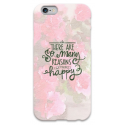 COVER FRASI THERE ARE SO MANY REASONS HAPPY per iPhone 3g/3gs 4/4s 5/5s/c 6/6s Plus iPod Touch 4/5/6 iPod nano 7