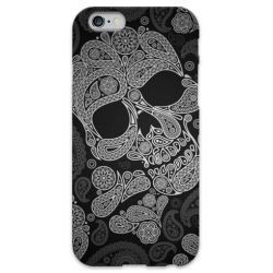 COVER TESCHIO NERO per iPhone 3g/3gs 4/4s 5/5s/c 6/6s Plus iPod Touch 4/5/6 iPod nano 7