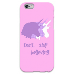 COVER UNICORNI DONT STOP BELIEVING per iPhone 3g/3gs 4/4s 5/5s/c 6/6s Plus iPod Touch 4/5/6 iPod nano 7