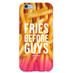 COVER FRASI FRIES BEFORE GUYS per iPhone 3g/3gs 4/4s 5/5s/c 6/6s Plus iPod Touch 4/5/6 iPod nano 7