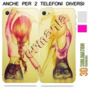 COVER DI COPPIA BEST FRIENDS AMICHE 3 per APPLE SAMSUNG HUAWEI LG SONY
