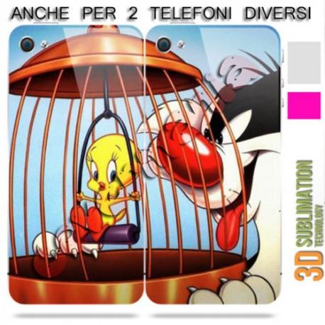 Cover Di Coppia Titti E Il Gatto Silvestro Per Apple Samsung Huawei