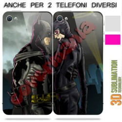 COVER DI COPPIA BATMAN E BATWOMAN per APPLE SAMSUNG HUAWEI LG SONY