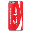 COVER COCA COLA con il tuo nome per iPhone 3g/3gs 4/4s 5/5s/c 6/6s Plus iPod Touch 4/5/6 iPod nano 7